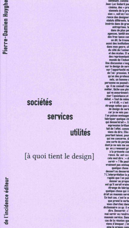 SOCIETES, SERVICES, UTILITES