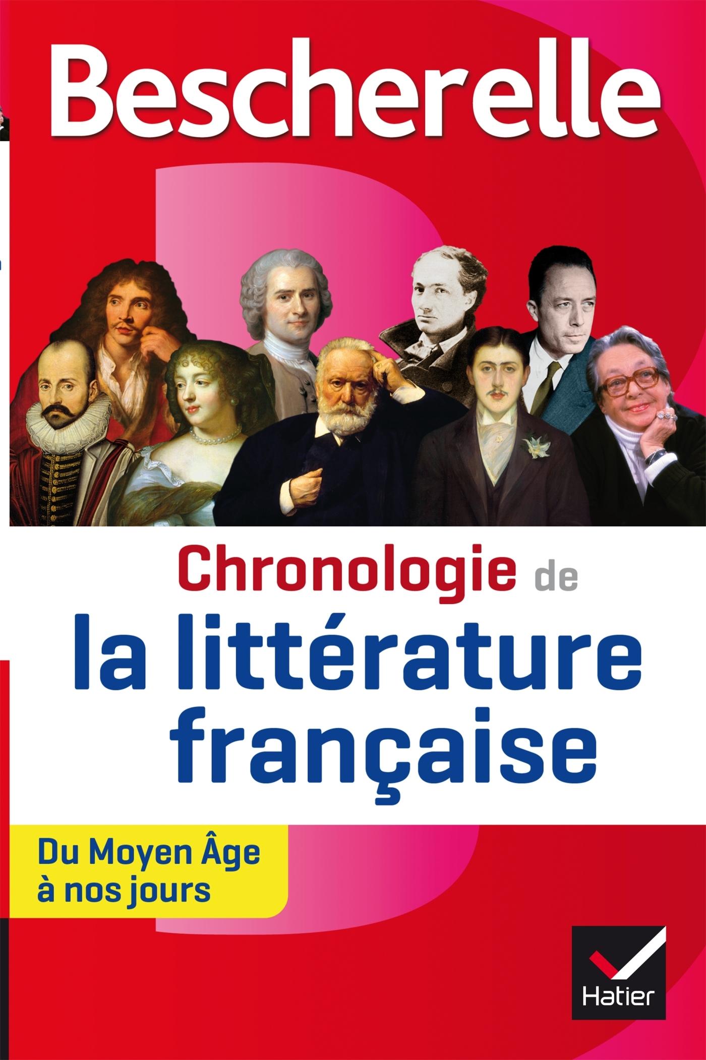 BESCHERELLE CHRONOLOGIE DE LA LITTERATURE FRANCAISE