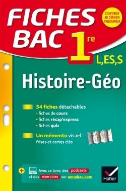 FICHES BAC HISTOIRE-GEOGRAPHIE 1RE L, ES, S