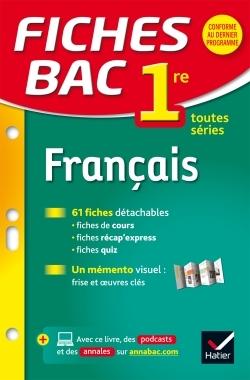 FICHES BAC FRANCAIS 1RE TOUTES SERIES