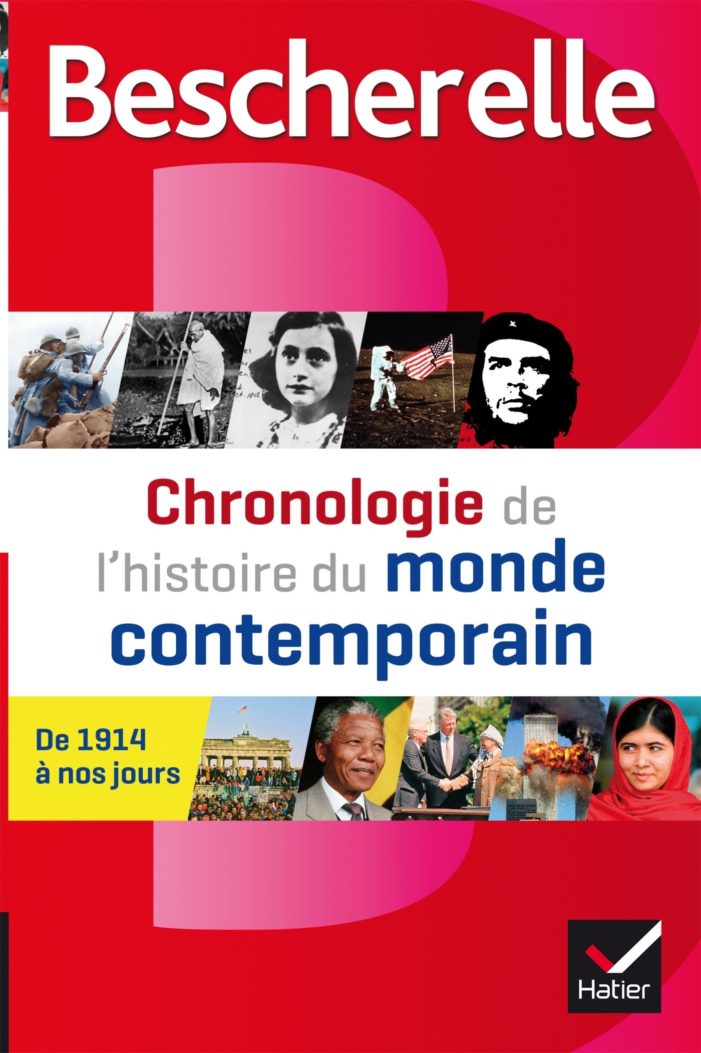 BESCHERELLE CHRONOLOGIE DE L'HISTOIRE DU MONDE CONTEMPORAIN