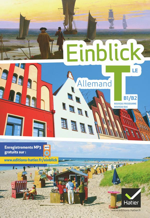 EINBLICK ALLEMAND TLE ED. 2012 - MANUEL DE L'ELEVE