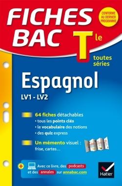 FICHES BAC ESPAGNOL TLE (LV1 & LV2)
