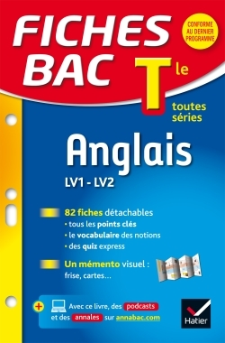 FICHES BAC ANGLAIS TLE (LV1 & LV2)