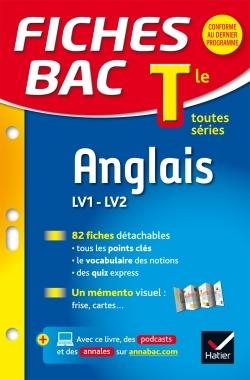 FICHES BAC ANGLAIS TLE (LV1 & LV2)