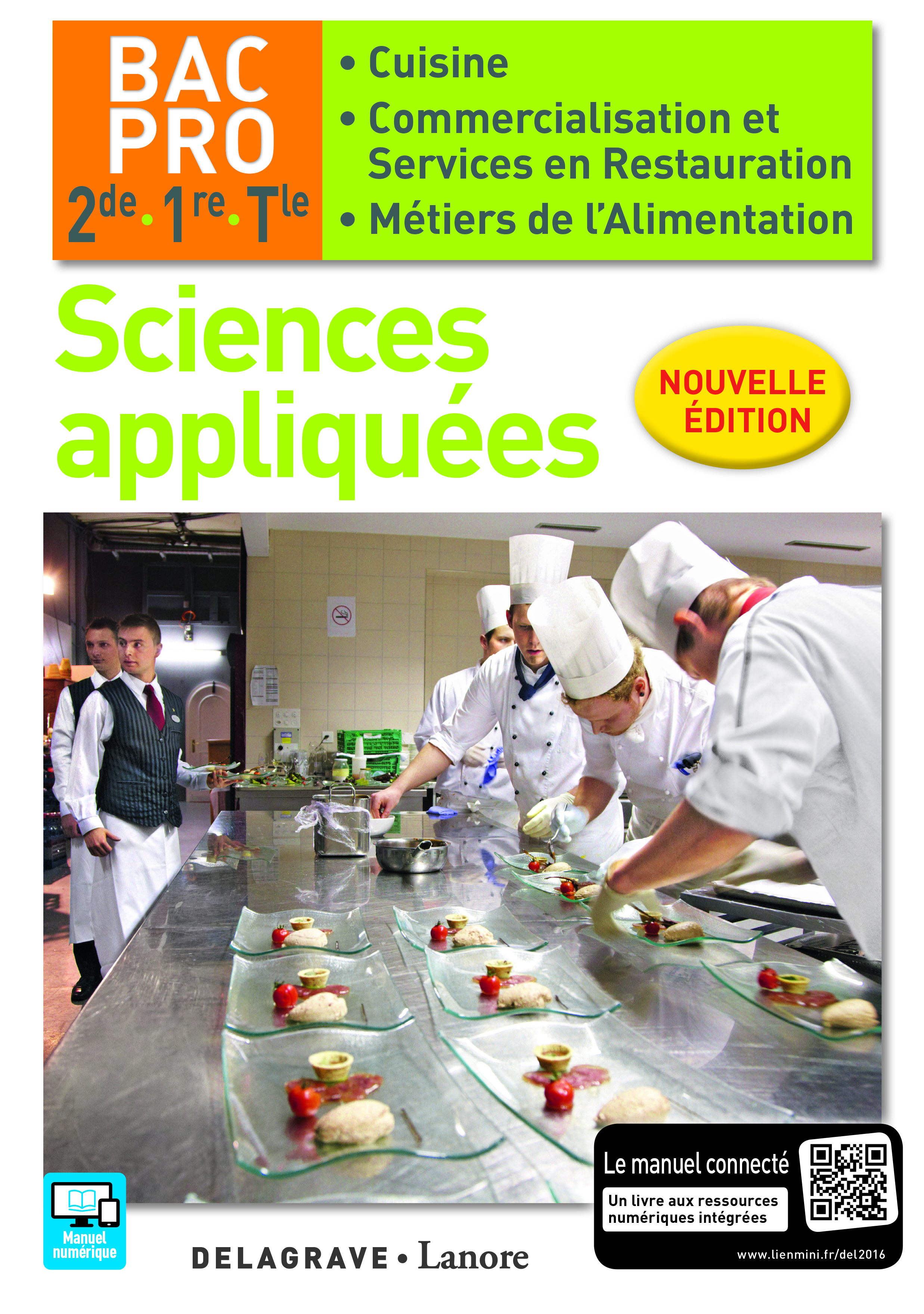 SCIENCES APPLIQUEES 2E 1E TLE BAC PRO CUISINE ELEVE