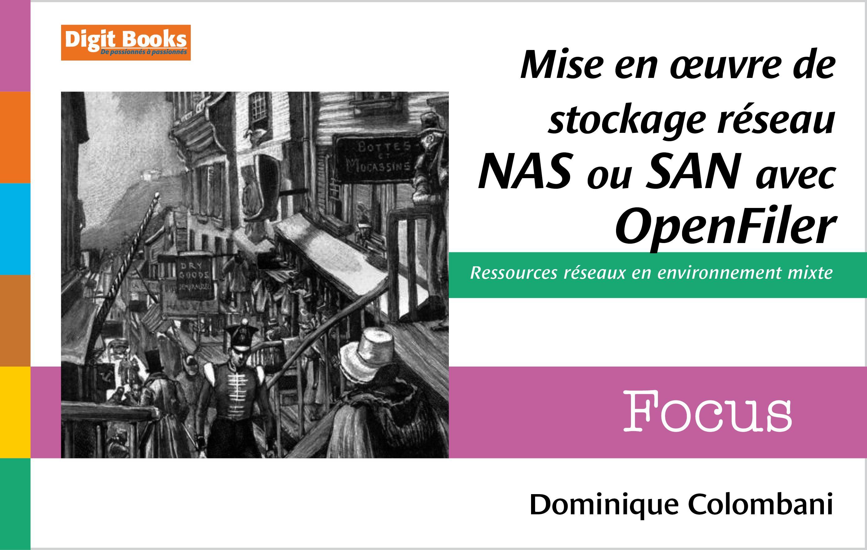 Mise en oeuvre de stockage réseau NAS ou SAN avec Openfiler