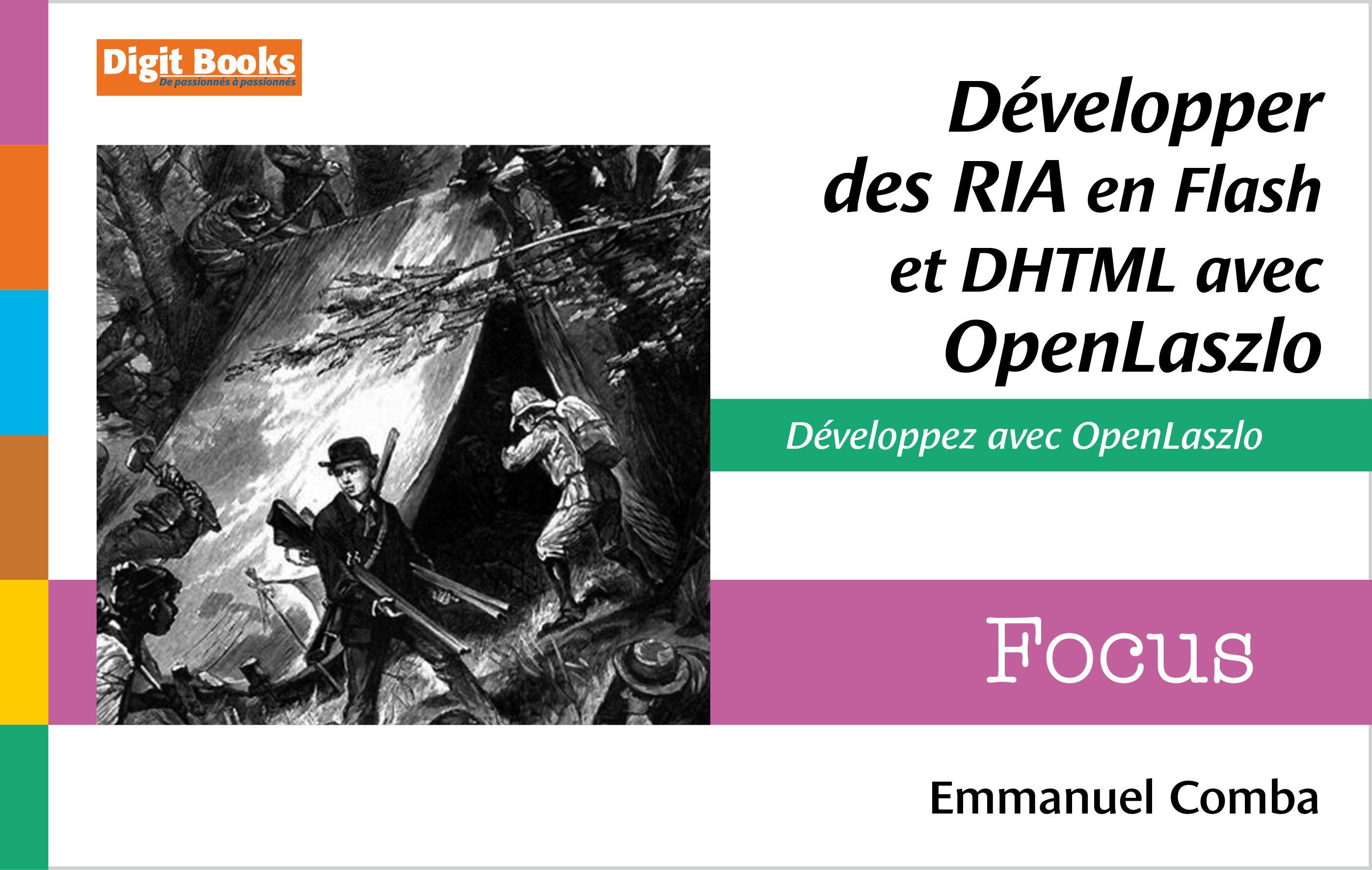 Développer des RIA en Flash et DHTML avec OpenLaszlo
