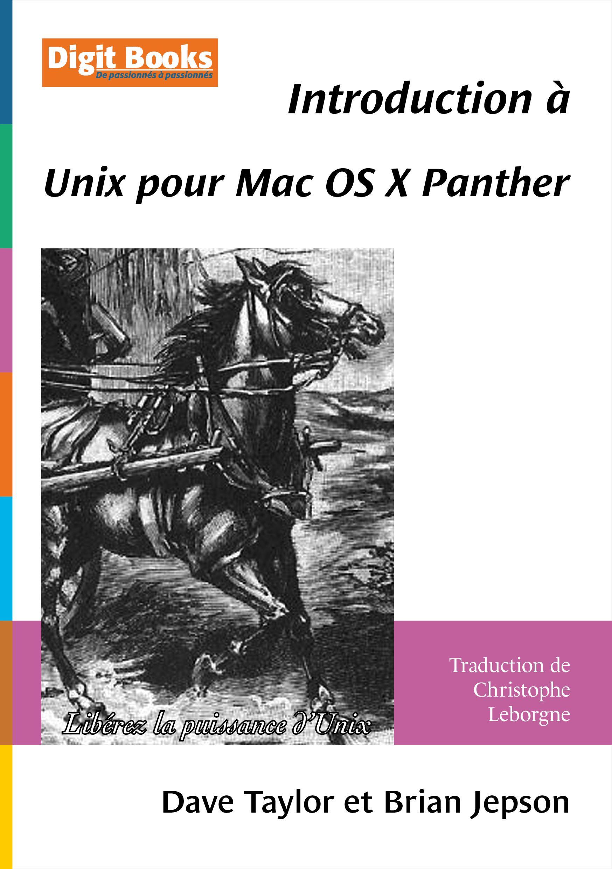 Introduction à Unix pour Mac OS X Panther