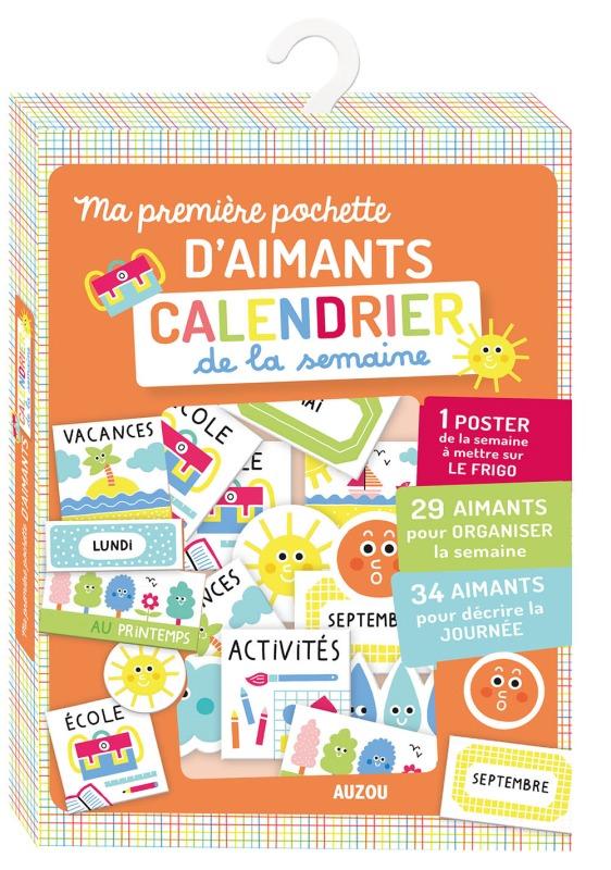 MA POCHETTE D'AIMANTS CALENDRIER DE LA SEMAINE