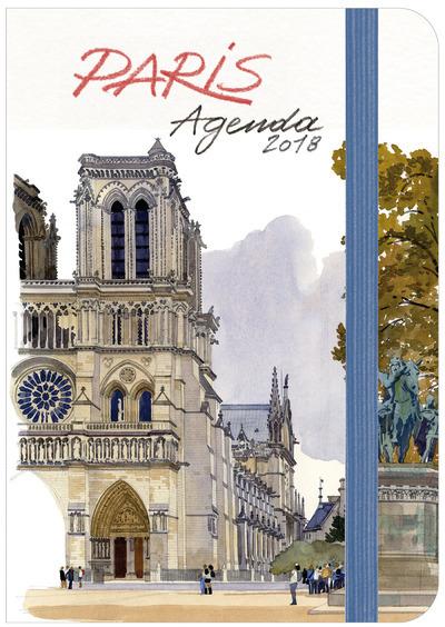 PARIS AGENDA 2018 PETIT FORMAT
