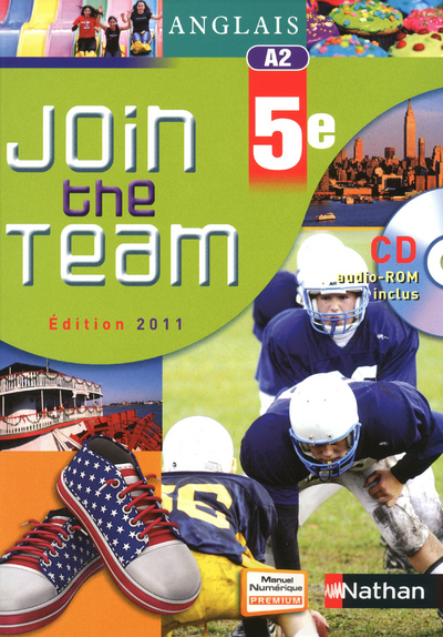 JOIN THE TEAM 5E + CD-ROM ELEV