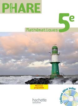 PHARE MATHEMATIQUES 5E - LIVRE ELEVE - FORMAT COMPACT - EDITION 2010