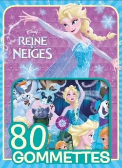 REINE DES NEIGES - 80 GOMMETTES DISNEY