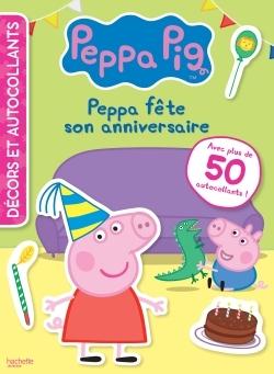 PEPPA PIG - DECORS ET AUTOCOLLANTS - ANNIVERSAIRE