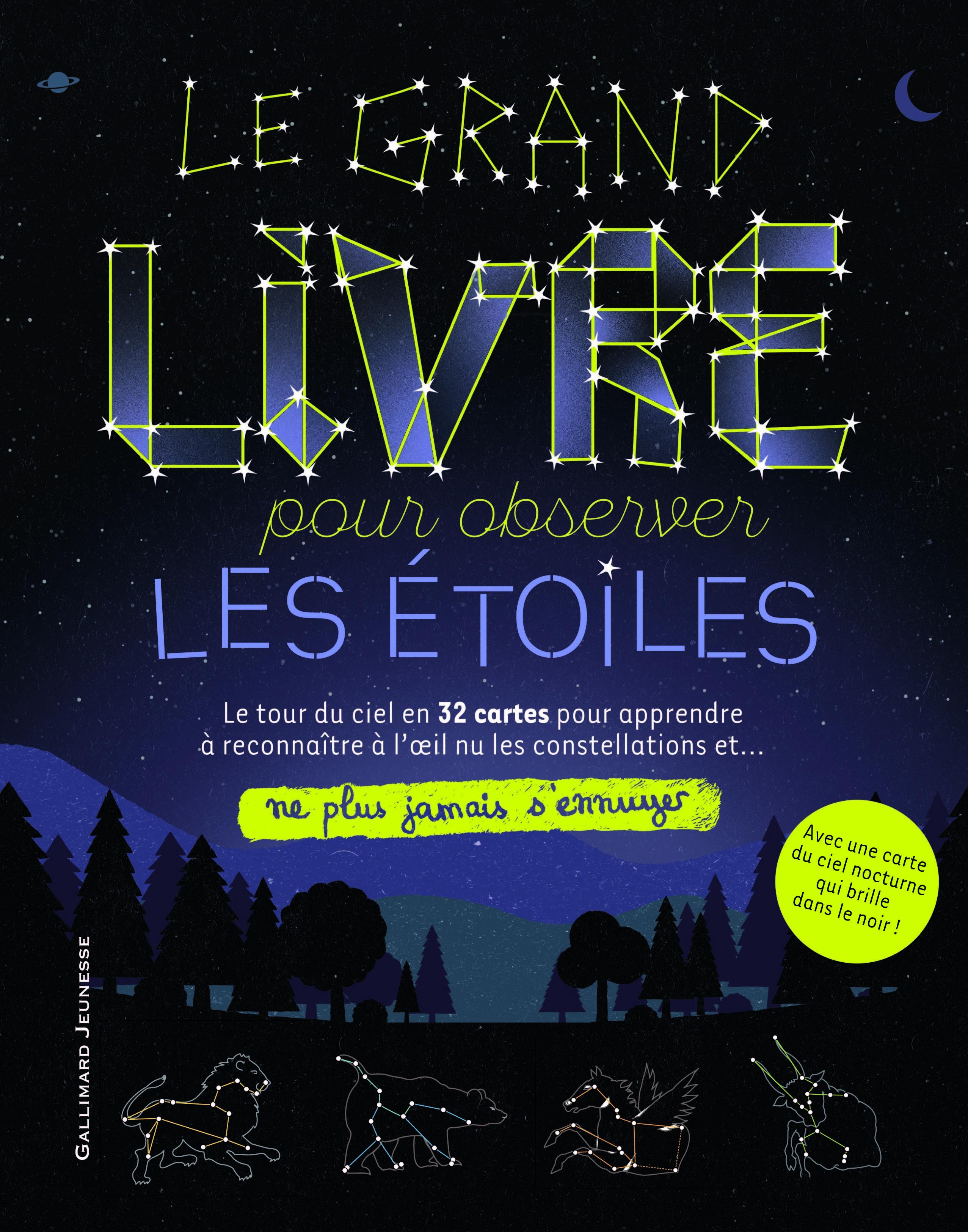 LE GRAND LIVRE POUR OBSERVER LES ETOILES