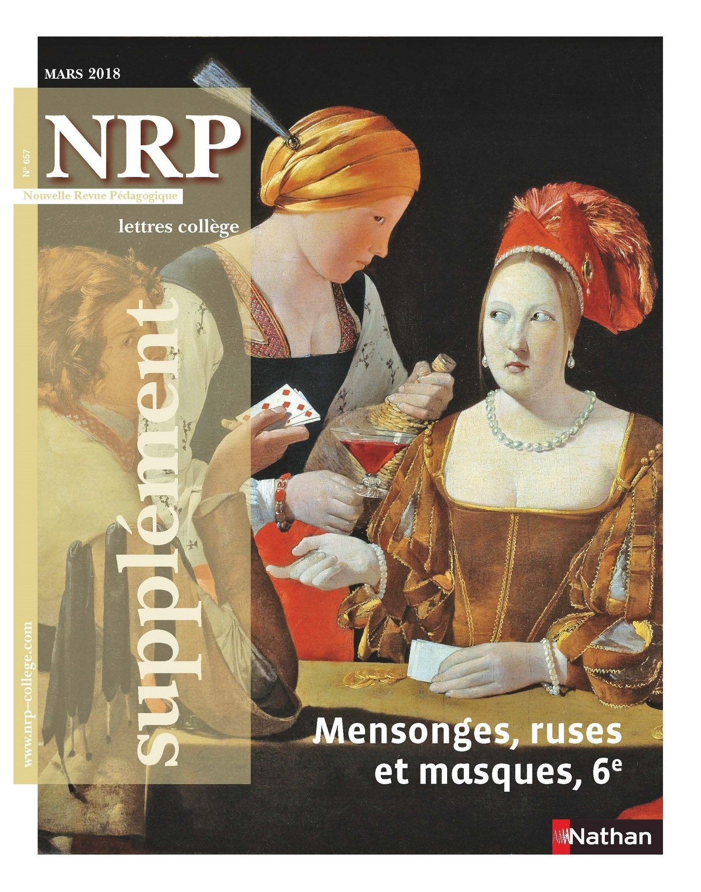 NRP Supplément Collège - Mensonges, ruses et masques - Mars 2018