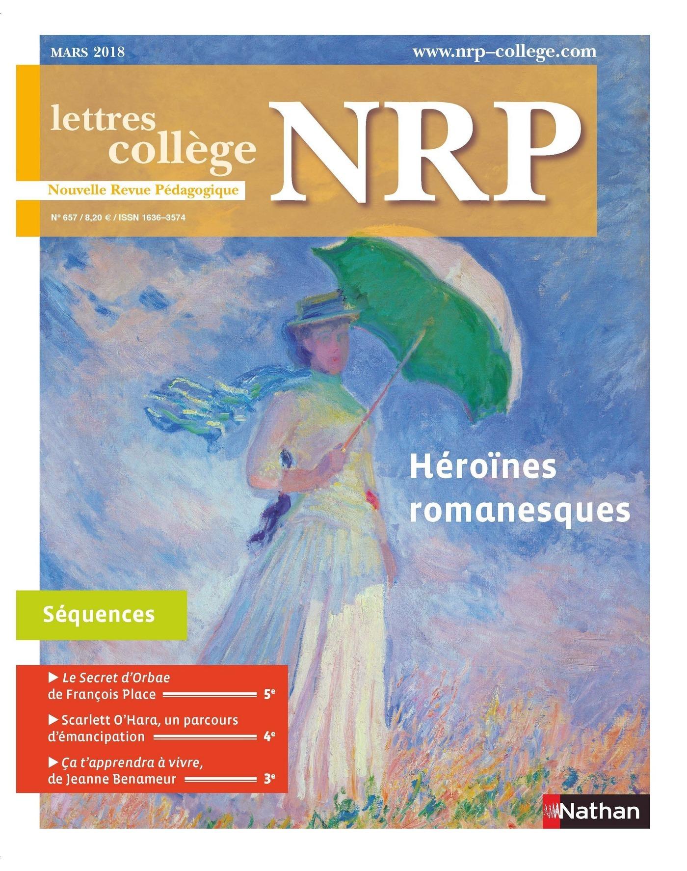 NRP Collège - Héroïnes romanesques