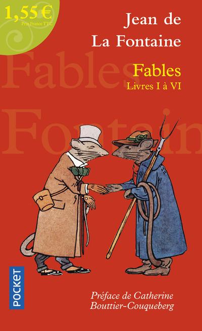 FABLES LIVRES I A VI A 1,55 EUROS