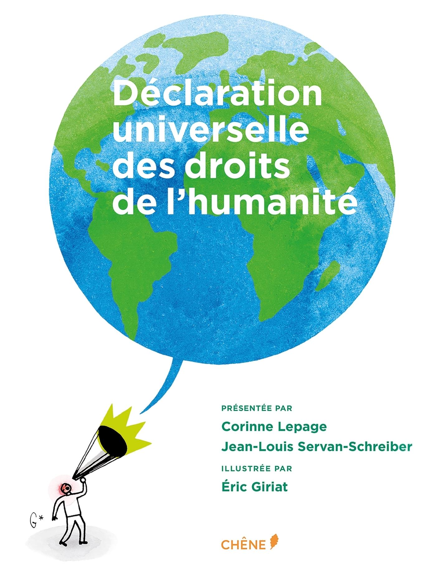 DECLARATION UNIVERSELLE DES DROITS DE L'HUMANITE ILLUSTREE