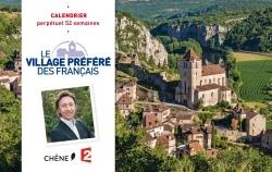 CALENDRIER 52 SEMAINES LE VILLAGE PREFERE DES FRANCAIS