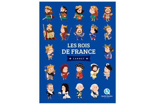 CARNET ROIS DE FRANCE