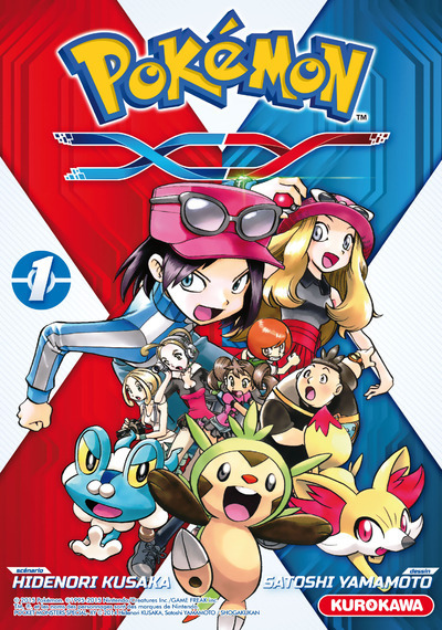 POKEMON XY - TOME 1