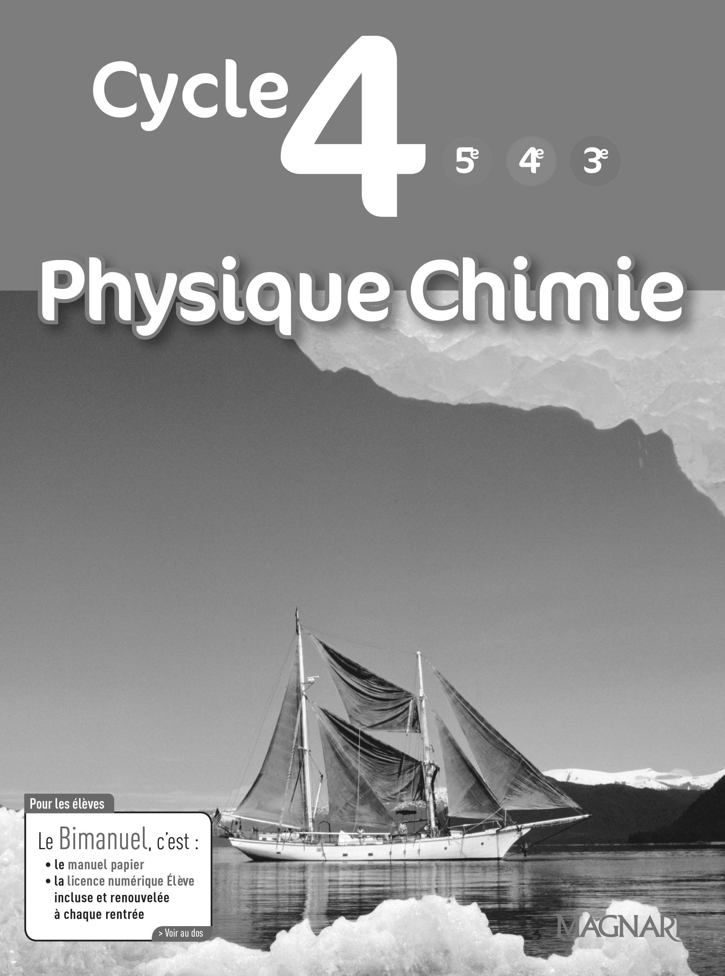 PHYSIQUE CHIMIE CYCLE 4 LIVRE DU PROFESSEUR 2017