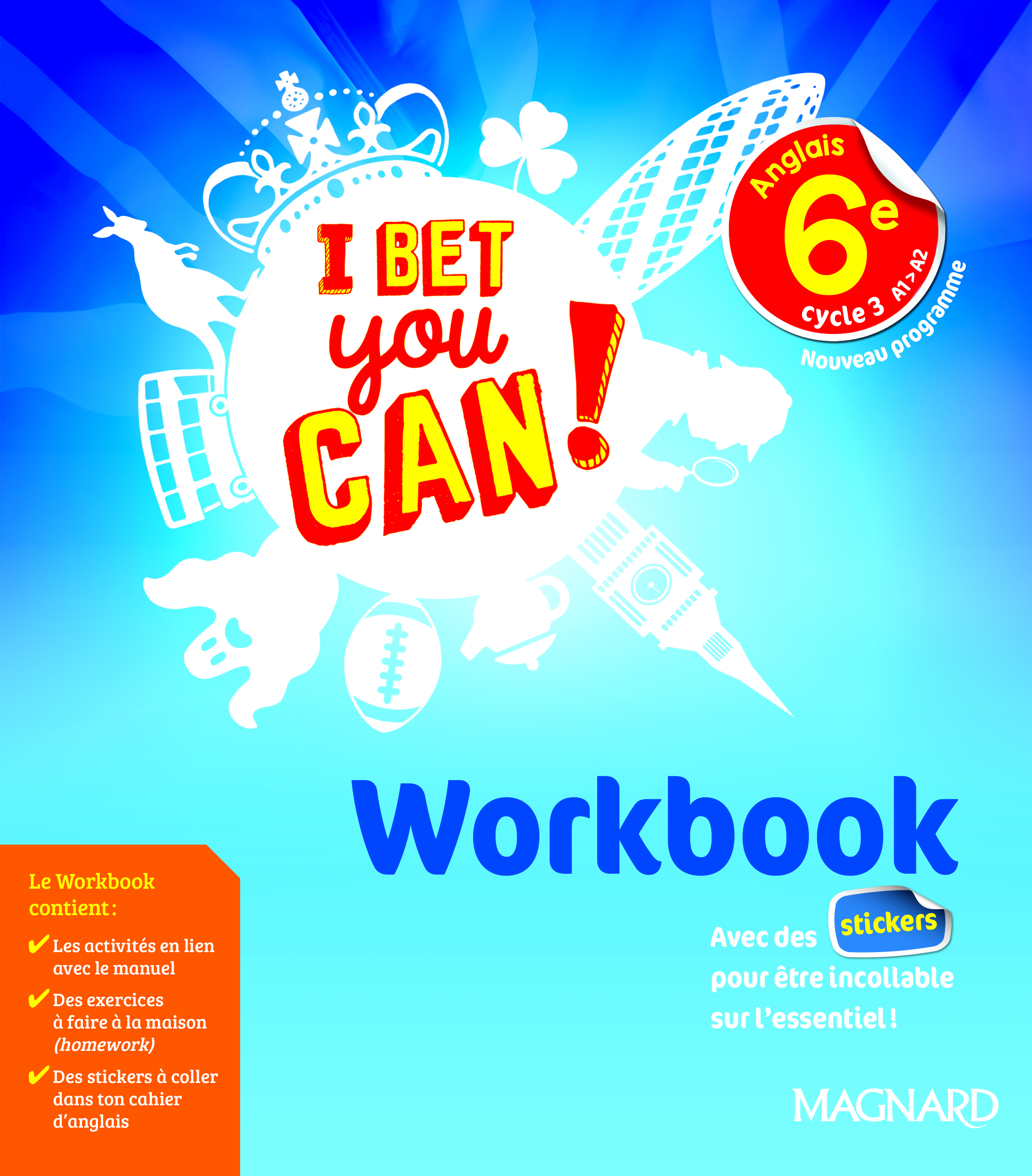 2017 I BET YOU CAN WORKBOOK 6E