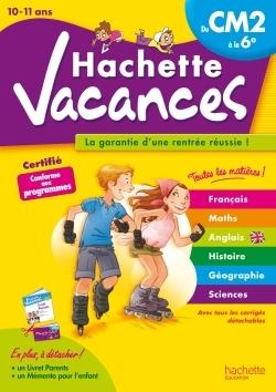 HACHETTE VACANCES - DU CM2 A LA 6E