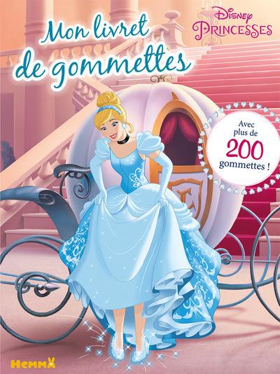 DISNEY PRINCESSES MON LIVRET DE GOMMETTES (CENDRILLON)