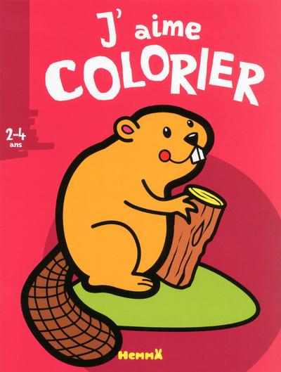 J'AIME COLORIER (2-4 ANS) (CASTOR)