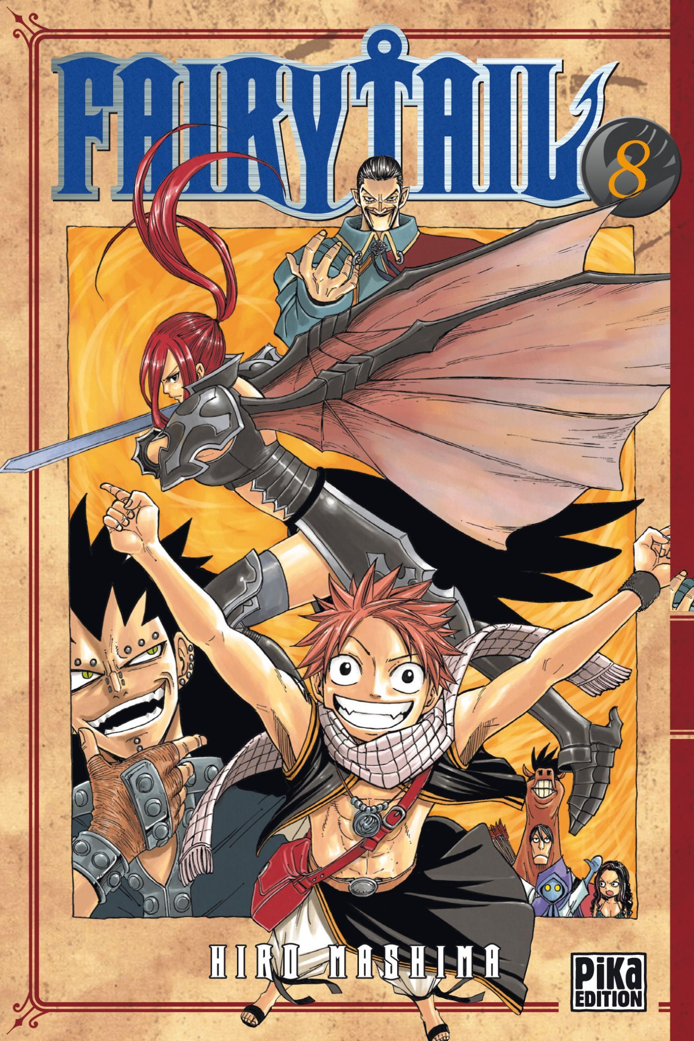 FAIRY TAIL T08