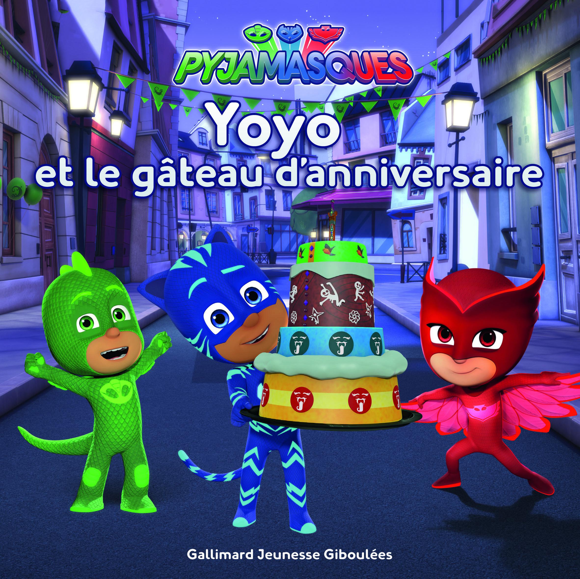 YOYO ET LE GATEAU D'ANNIVERSAIRE