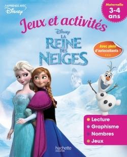 REINE DES NEIGES JEUX ET ACTIVITES 3-4 ANS
