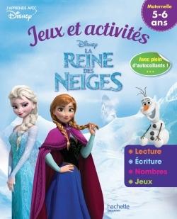 REINE DES NEIGES JEUX ET ACTIVITES 5-6 ANS
