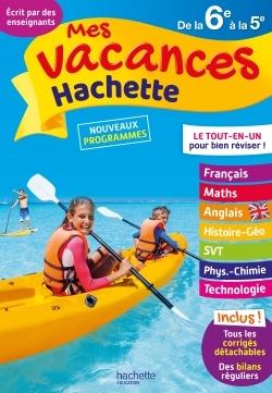 MES VACANCES HACHETTE 6E/5E