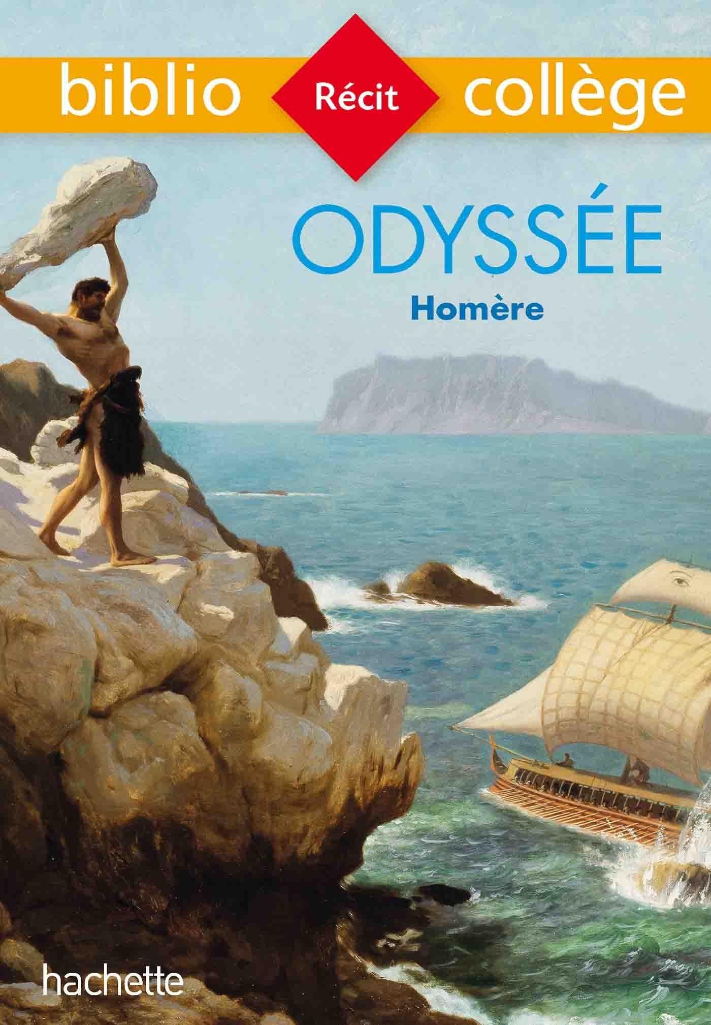 BIBLIOCOLLEGE - ODYSSEE, HOMERE