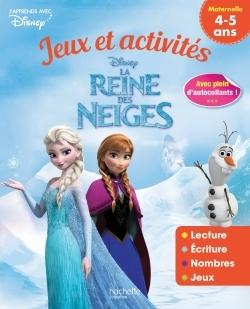 REINE DES NEIGES JEUX ET ACTIVITES 4-5 ANS