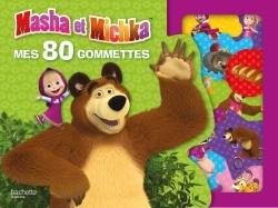 MASHA ET MICHKA - MES 80 GOMMETTES