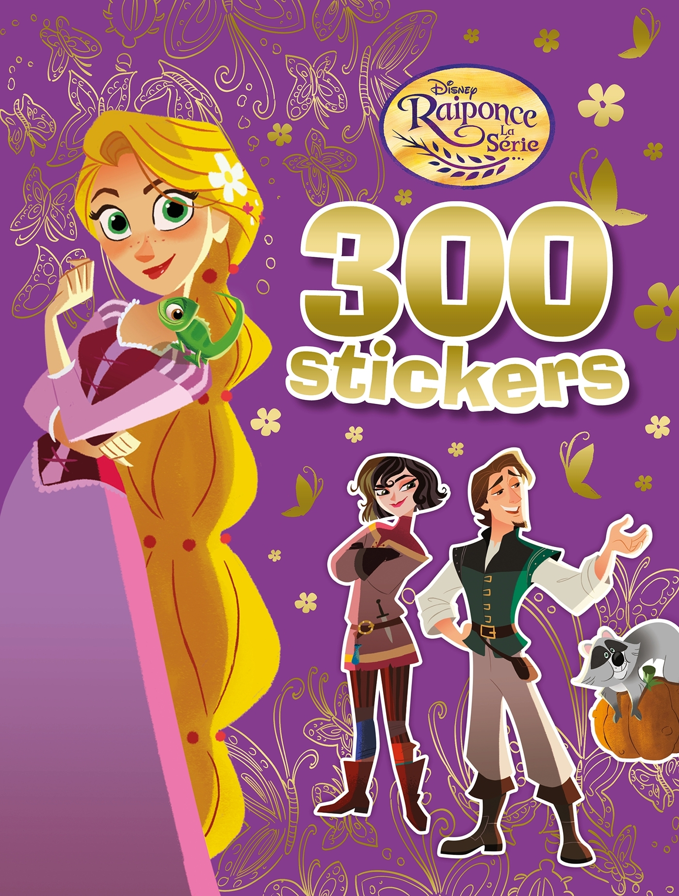RAIPONCE (SERIE TV) - 300 STICKERS