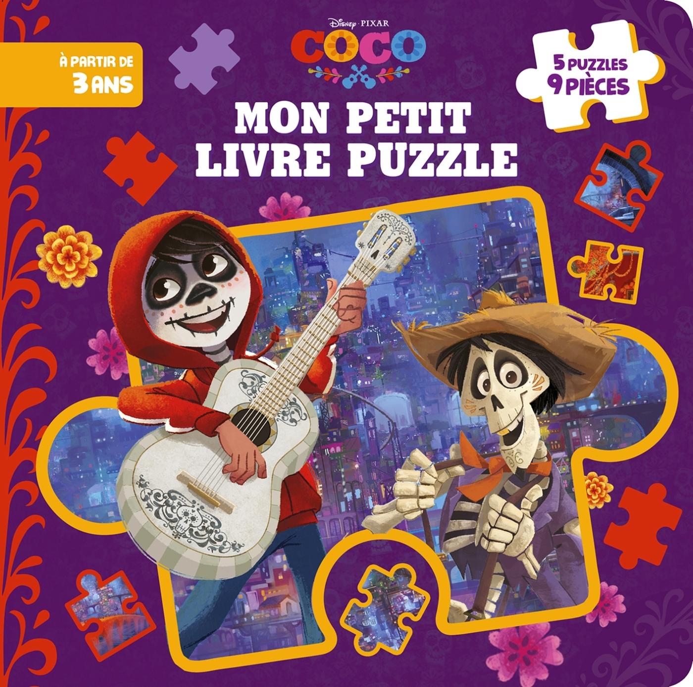 COCO - MON PETIT LIVRE PUZZLE 9 PIECES