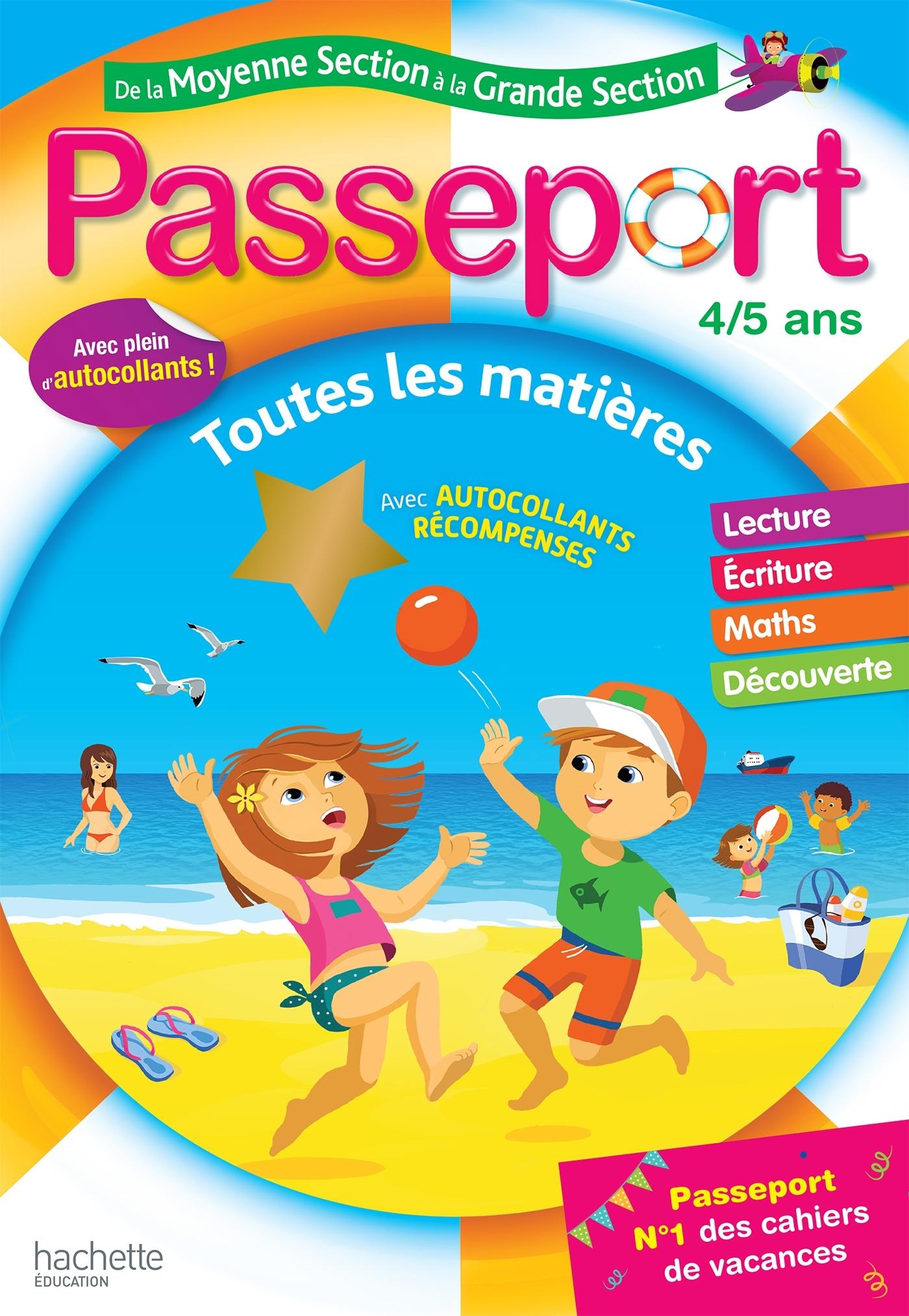 PASSEPORT DE LA MS A LA GS