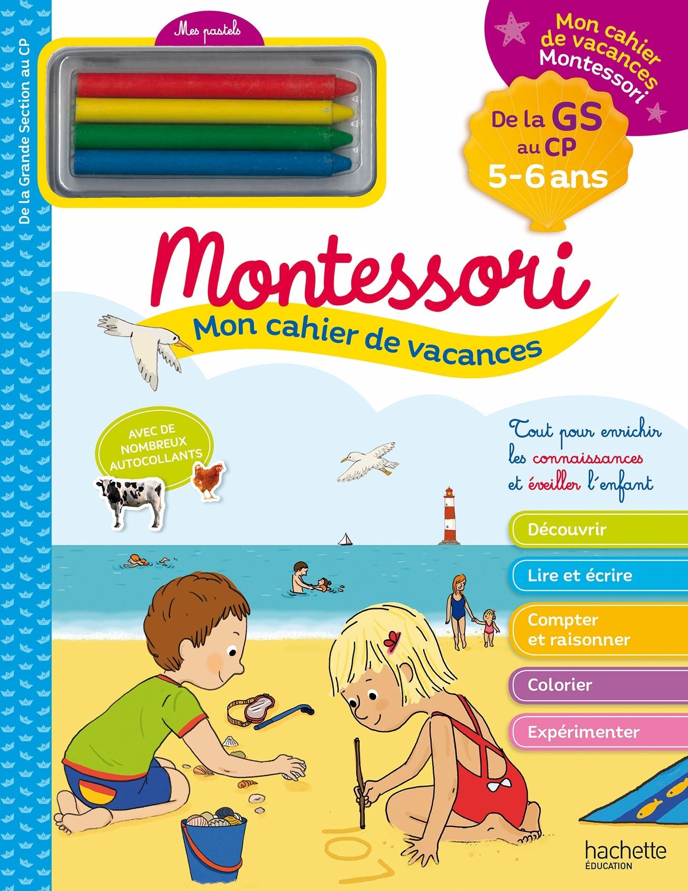 MON CAHIER DE VACANCES MONTESSORI 5/6 ANS