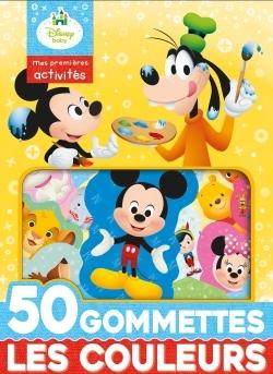 DISNEY BABY - 50 GRANDES GOMMETTES DISNEY - LES COULEURS ET FORMES