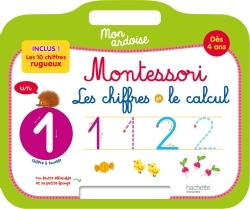 MON ARDOISE MONTESSORI LES CHIFFRES ET LE CALCUL DES 4 ANS