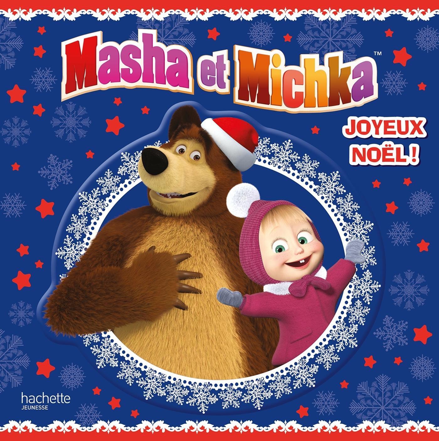 MASHA ET MICHKA - TOUT CARTON - JOYEUX NOEL !