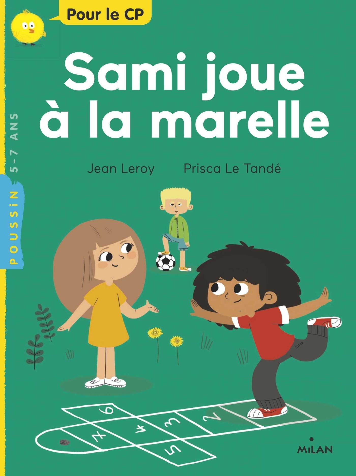 SAMI JOUE A LA MARELLE