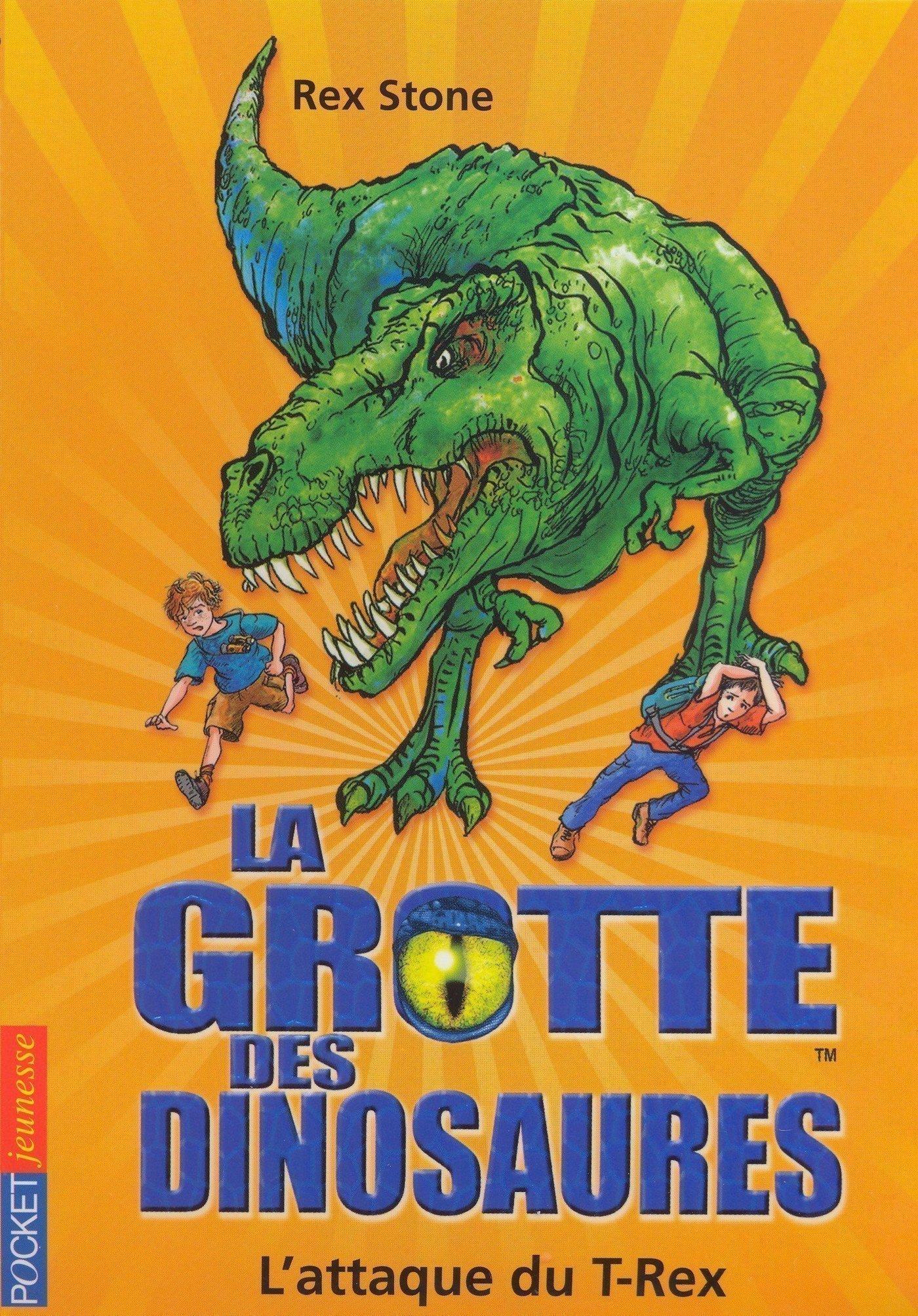 La grotte des dinosaures tome 1, L'ATTAQUE DU T- REX