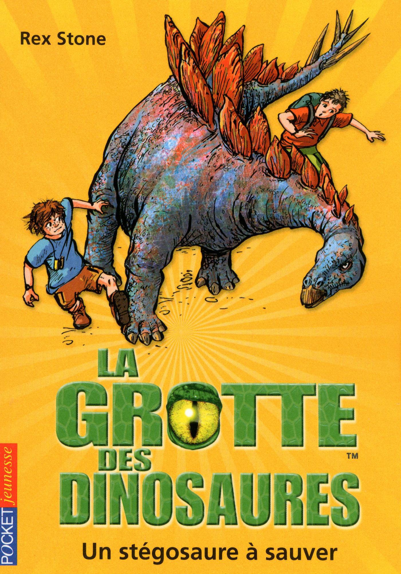 La grotte des dinosaures tome 7, UN STÉGOSAURE À SAUVER